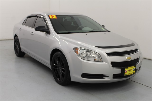 Pre-Owned 2012 Chevrolet Malibu LS 4D Sedan in Kirkland